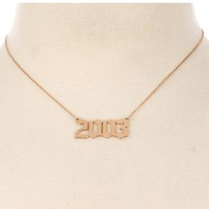 2003 Necklace